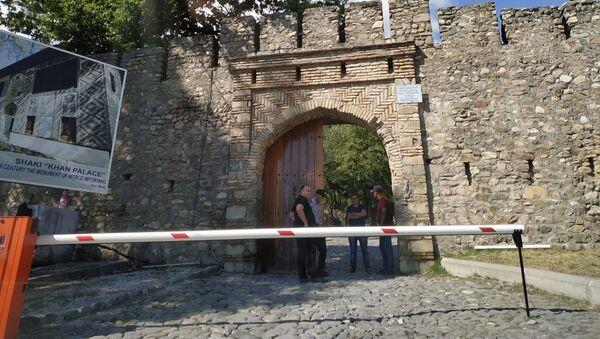 Şəki Xan Sarayına giriş bağlanıb - Sputnik Азербайджан