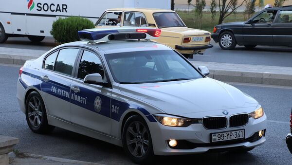 Автомобиль дорожной полиции, фото из архива - Sputnik Азербайджан