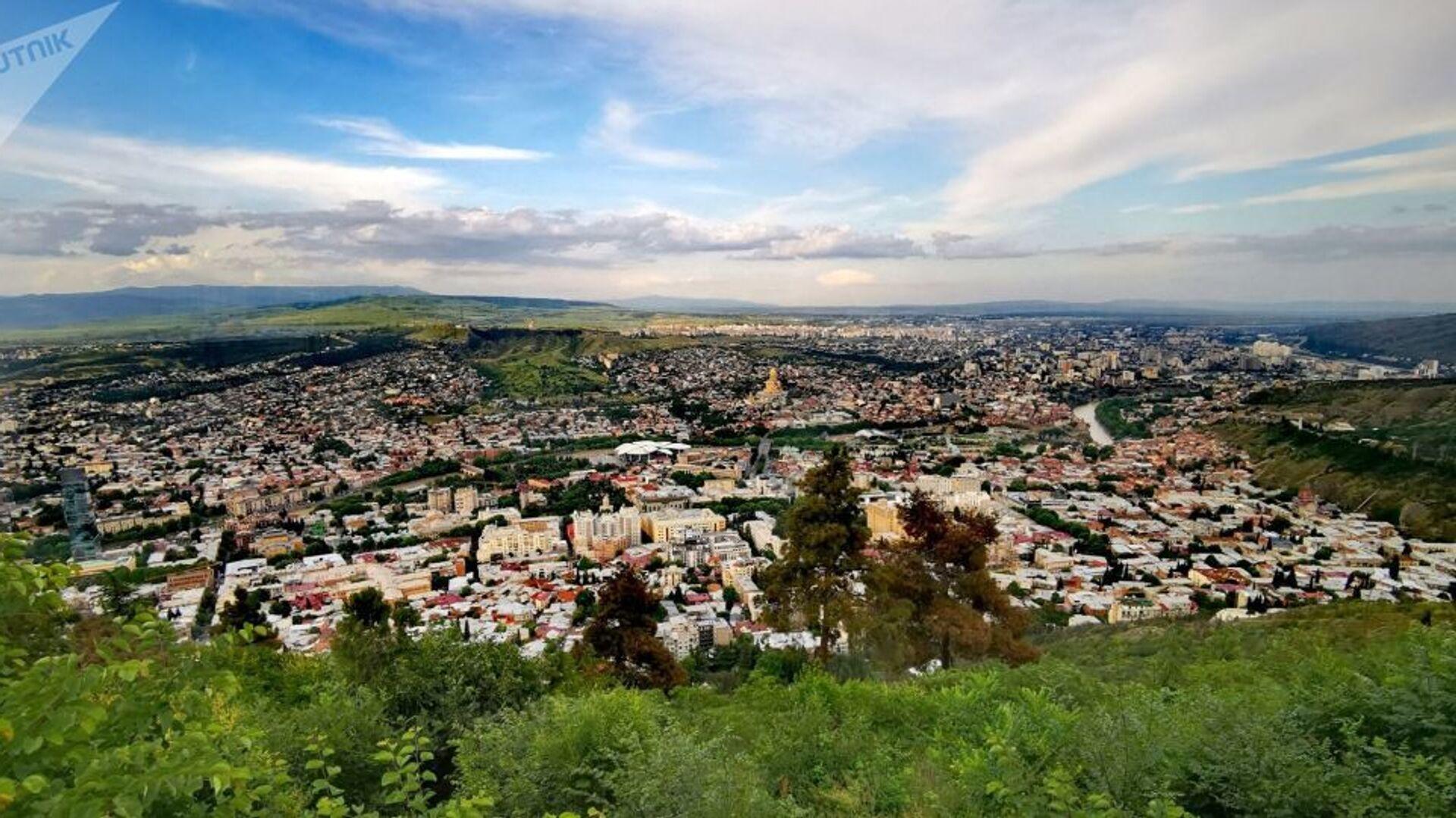 Вид на город Тбилиси - Sputnik Azərbaycan, 1920, 27.09.2021