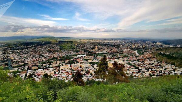 Вид на город Тбилиси - Sputnik Азербайджан