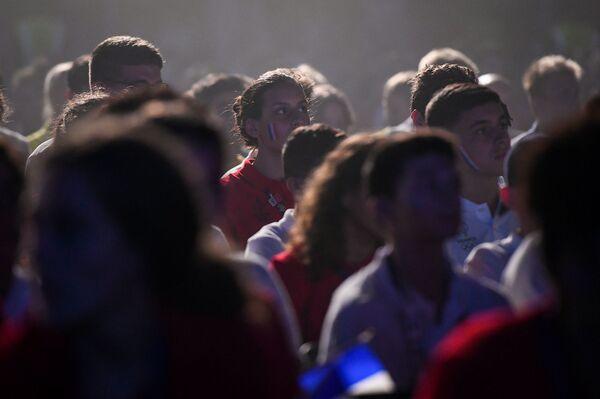 Церемония открытия XV Европейского юношеского летнего олимпийского фестиваля - Sputnik Азербайджан