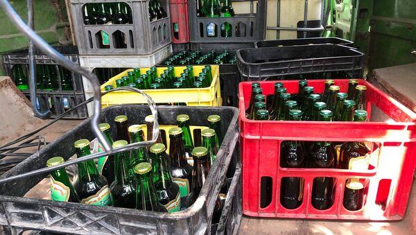 Цех по производству безалкогольных напитков в Гяндже - Sputnik Азербайджан