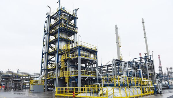 Бакинский нефтеперерабатывающий завод - Sputnik Азербайджан