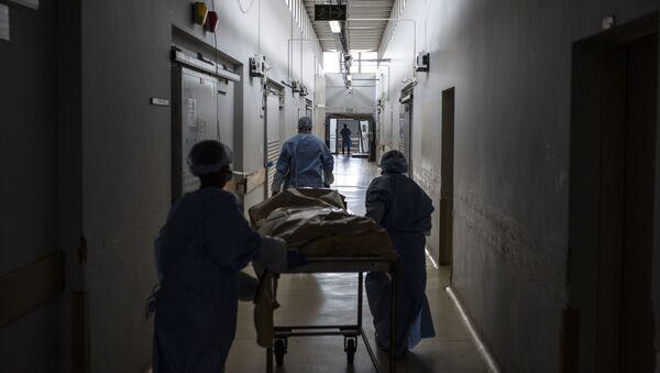 Больничный коридор, фото из архива - Sputnik Азербайджан