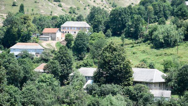 Tovuz rayonunun Çataq kəndi - Sputnik Азербайджан