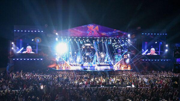 Международный музыкальный фестиваль Жара 2019 в Баку. Третий день. - Sputnik Азербайджан
