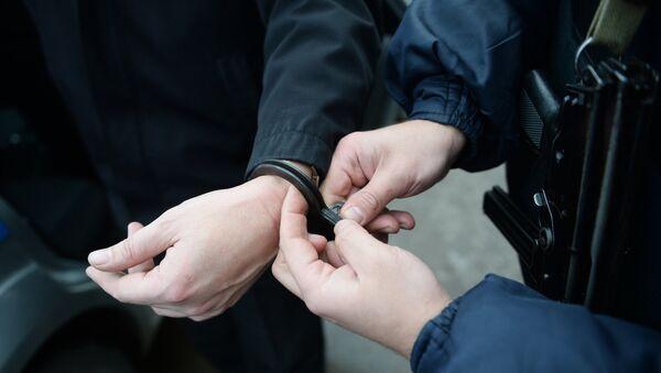 Работа вневедомственной охраны московской полиции - Sputnik Азербайджан
