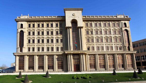 Dövlət Miqrasiya Xidmətinin binası - Sputnik Азербайджан