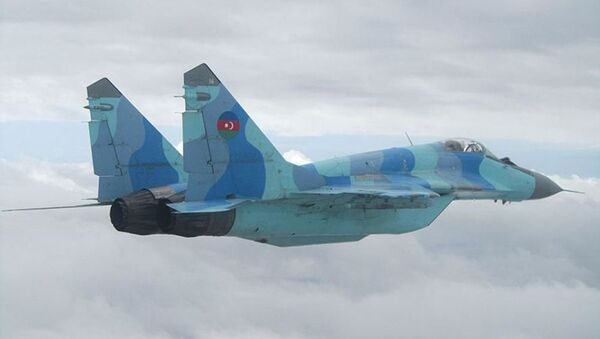 Истребитель МиГ-29 ВВС Азербайджана - Sputnik Азербайджан
