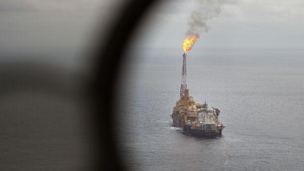 Нефтяной танкер, фото из архива - Sputnik Азербайджан