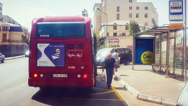 Avtobus dayanacağı - Sputnik Azərbaycan