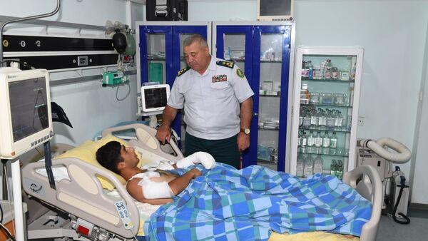 Раненый солдат - Sputnik Азербайджан