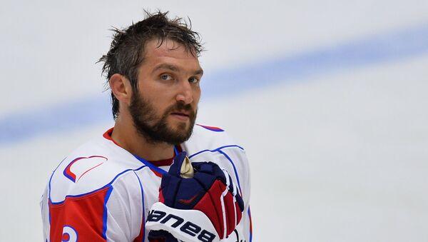 Хоккеист Александр Овечкин, фото из архива - Sputnik Азербайджан