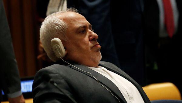 İranın xarici işlər naziri Məhəmməd Cavad Zərif - Sputnik Azərbaycan