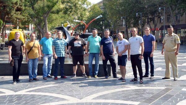 Участники конкурса Кубок моря-2019 посетили достопримечательности Баку - Sputnik Азербайджан