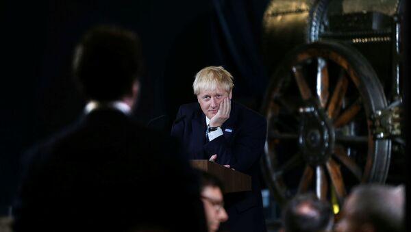 Борис Джонсон, фото из архива - Sputnik Азербайджан