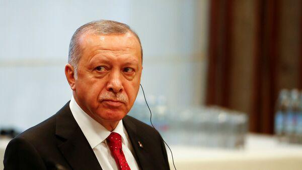 Türkiyə Prezidenti Rəcəb Tayyib Ərdoğan - Sputnik Azərbaycan