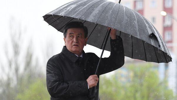 Qırğızıstanın Prezidenti Sooranbay Jeenbekov - Sputnik Azərbaycan