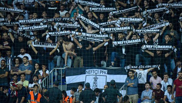 Матч третьего квалификационного раунда Лиги Европы между Нефтчи и израильским Бней Иегудой - Sputnik Азербайджан