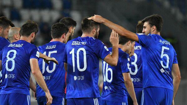 Игроки клуба Динамо Тбилиси - Sputnik Азербайджан