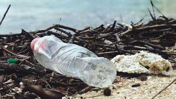 Пластиковая бутылка, фото из архива - Sputnik Азербайджан