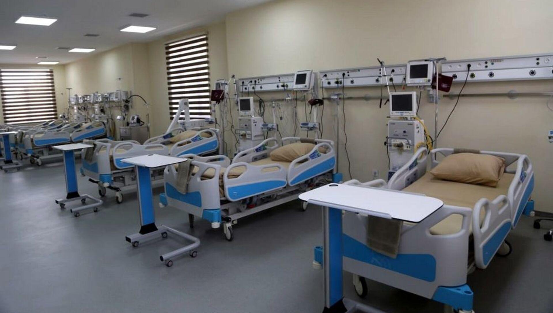 Закир Гасанов принял участие в открытии нового военного госпиталя в прифронтовой зоне - Sputnik Азербайджан, 1920, 03.04.2021