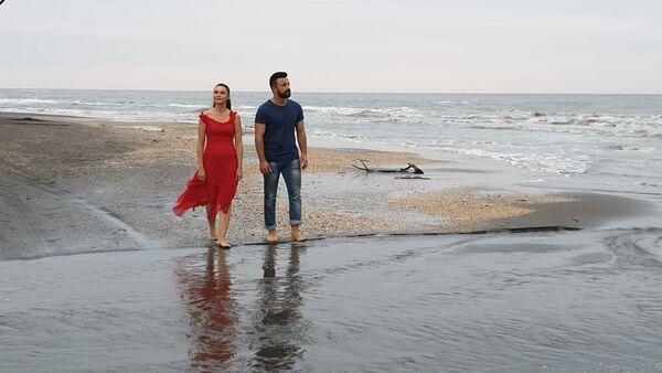 Съемки художественного фильма Sevgi romani (Любовный роман) - Sputnik Азербайджан