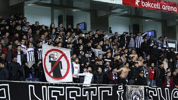Фанаты футбольного клуба Нефтчи - Sputnik Азербайджан