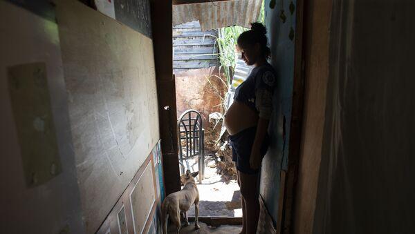 Беременная женщина, фото из архива - Sputnik Азербайджан