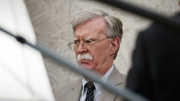 Советник президента США по национальной безопасности Джон Болтон, фото из архива - Sputnik Azərbaycan