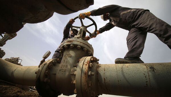 Газопровод, фото из архива - Sputnik Азербайджан