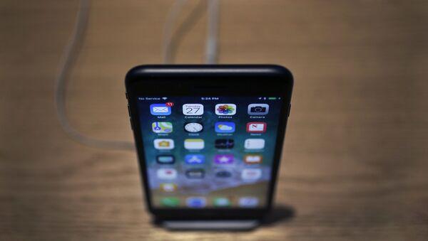 iPhone X, arxiv şəkli - Sputnik Azərbaycan