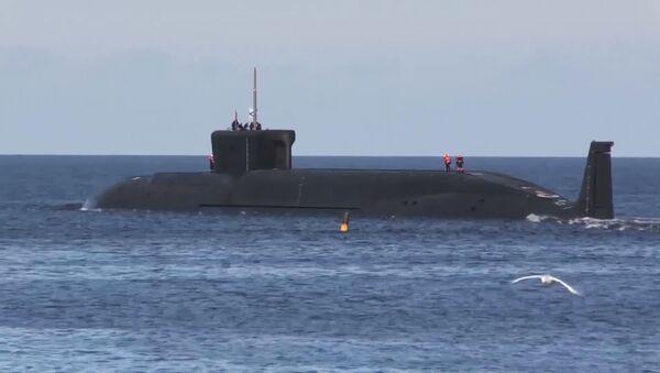 Подводный крейсер Юрий Долгорукий, фото из архива - Sputnik Азербайджан