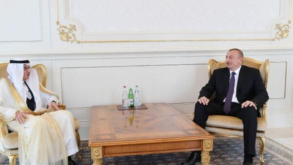 Президент Азербайджана Ильхам Алиев принял генерального секретаря Организации исламского сотрудничества Юсифа бин Ахмеда Аль-Усаймина - Sputnik Азербайджан