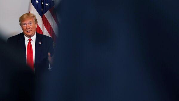 ABŞ Prezidenti Donald Tramp, arxiv şəkli - Sputnik Azərbaycan