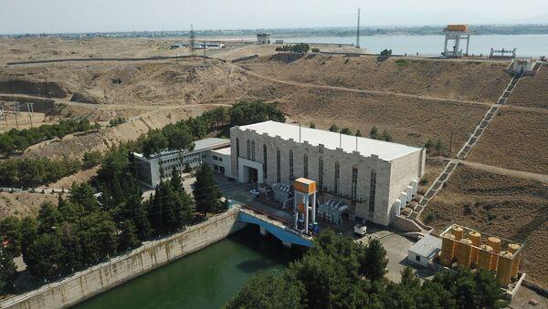 Шамкирская ГЭС, фото из архива - Sputnik Азербайджан