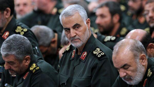 Иранский генерал Касем Сулеймани - Sputnik Азербайджан