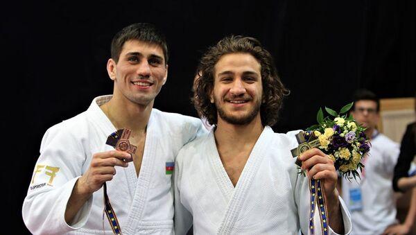 Рустам Оруджев и Хидаят Гейдаров - Sputnik Азербайджан