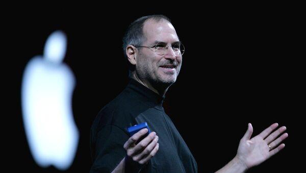Основатель американской корпорации Apple Стив Джобс, фото из архива - Sputnik Азербайджан
