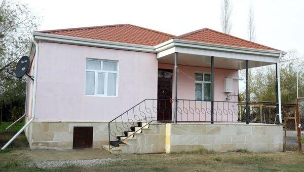 Дома для вынужденных переселенцев, фото из архива - Sputnik Азербайджан