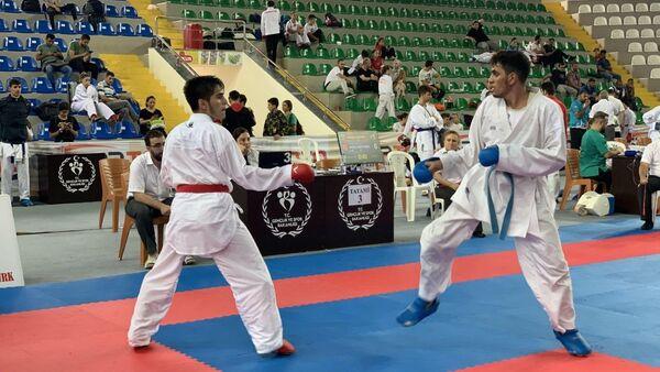 Чемпионат стран Средиземноморского и Каспийского регионов по карате - Sputnik Азербайджан