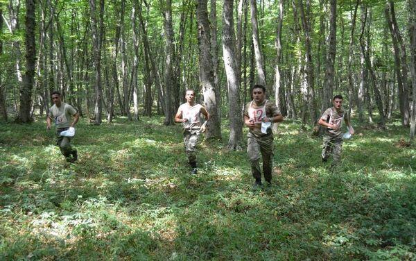 В Азербайджанской Армии завершился первый этап соревнования по ориентированию - Sputnik Азербайджан