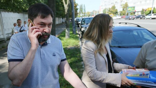Кирилл Вышинский после освобождения - Sputnik Азербайджан