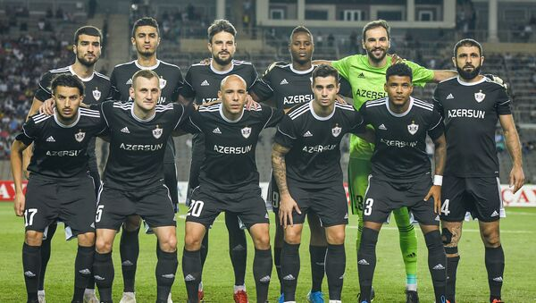 Игроки азербайджанского футбольного клуба Карабах - Sputnik Азербайджан