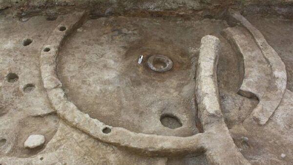 Çaqqallıqtəpə abidəsində arxeoloji qazıntılar - Sputnik Azərbaycan