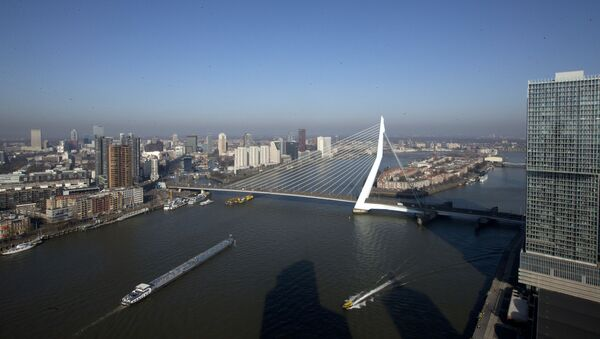 Роттердам, фото из архива - Sputnik Азербайджан