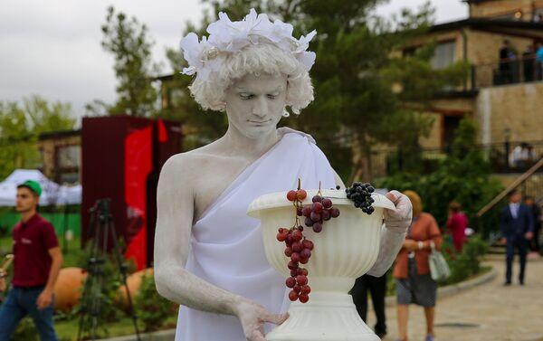 Открытие первого Азербайджанского фестиваля винограда и вина в Шамахы - Sputnik Азербайджан