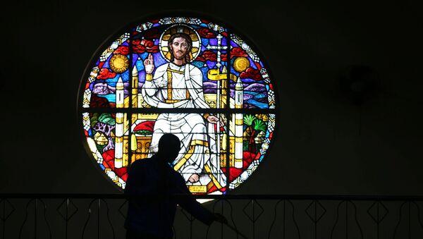 Церковь Пресвятой Богородицы, фото из архива - Sputnik Азербайджан