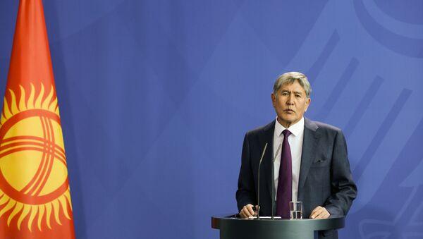 Almazbek Atambayev - Sputnik Azərbaycan