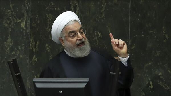 İran Prezidenti Həsən Ruhani - Sputnik Azərbaycan